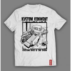 T-shirt Kustom Konwent 2017...